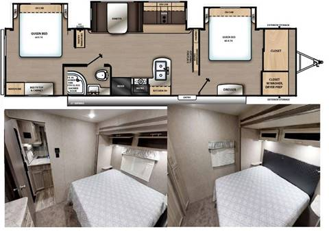 2020 Coachmen Catalina Legacy 343BHTS for sale in Princeton, NC