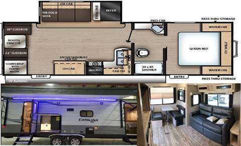2020 Coachmen Catalina SBX 241RLS for sale in Princeton, NC