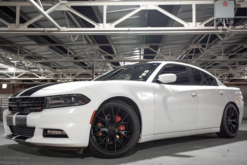 2016 Dodge Charger Sxt Srt 8 Look Srt Hellcat Wheels 6k Extra