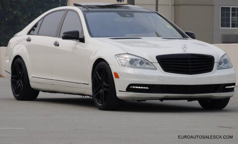 2012 Mercedes-Benz S-Class for sale at Euro Auto Sales in Santa Clara CA