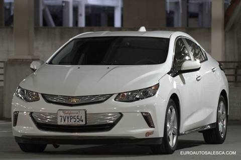 2017 Chevrolet Volt for sale at Euro Auto Sales in Santa Clara CA