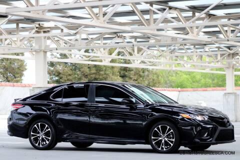 2019 Toyota Camry for sale at Euro Auto Sales in Santa Clara CA