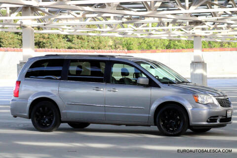 2013 Chrysler Town and Country for sale at Euro Auto Sales in Santa Clara CA