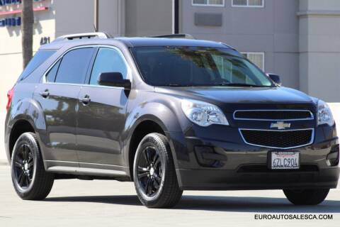 2013 Chevrolet Equinox for sale at Euro Auto Sales in Santa Clara CA