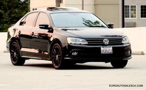 2016 Volkswagen Jetta for sale at Euro Auto Sales in Santa Clara CA