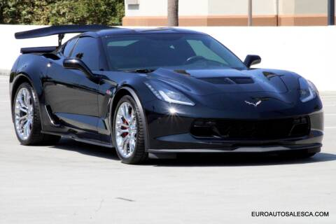 2016 Chevrolet Corvette for sale at Euro Auto Sales in Santa Clara CA
