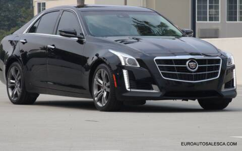 2014 Cadillac CTS for sale at Euro Auto Sales in Santa Clara CA
