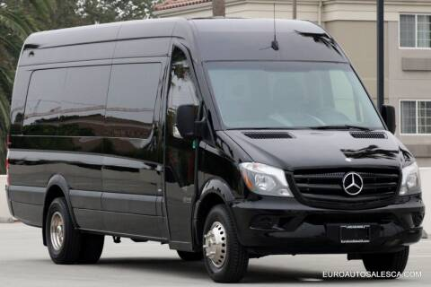 2015 Mercedes-Benz Sprinter Cargo for sale at Euro Auto Sales in Santa Clara CA