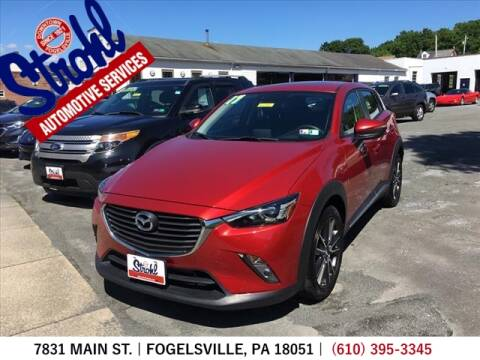 2017 Mazda CX-3 for sale at Strohl Automotive Services in Fogelsville PA