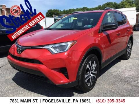 2017 Toyota RAV4 for sale at Strohl Automotive Services in Fogelsville PA