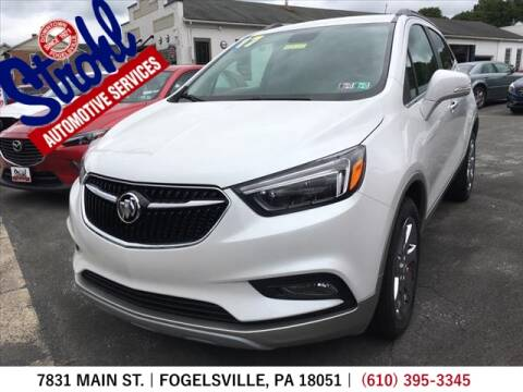 2017 Buick Encore for sale at Strohl Automotive Services in Fogelsville PA
