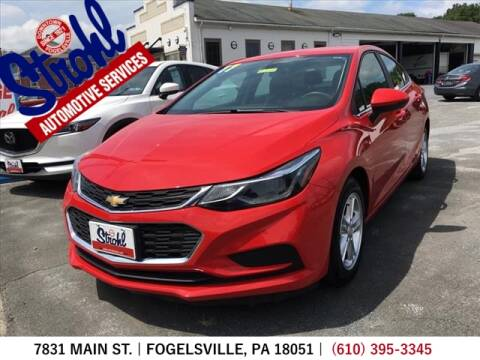 2017 Chevrolet Cruze for sale at Strohl Automotive Services in Fogelsville PA