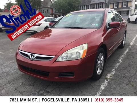 2007 Honda Accord for sale at Strohl Automotive Services in Fogelsville PA