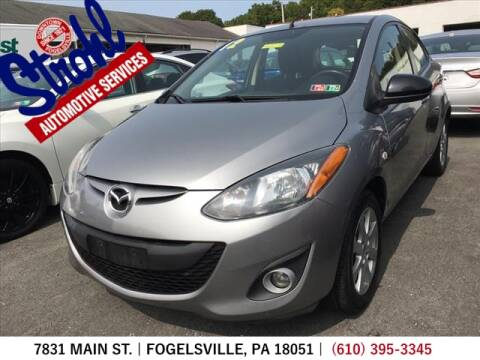 2012 Mazda MAZDA2 for sale at Strohl Automotive Services in Fogelsville PA