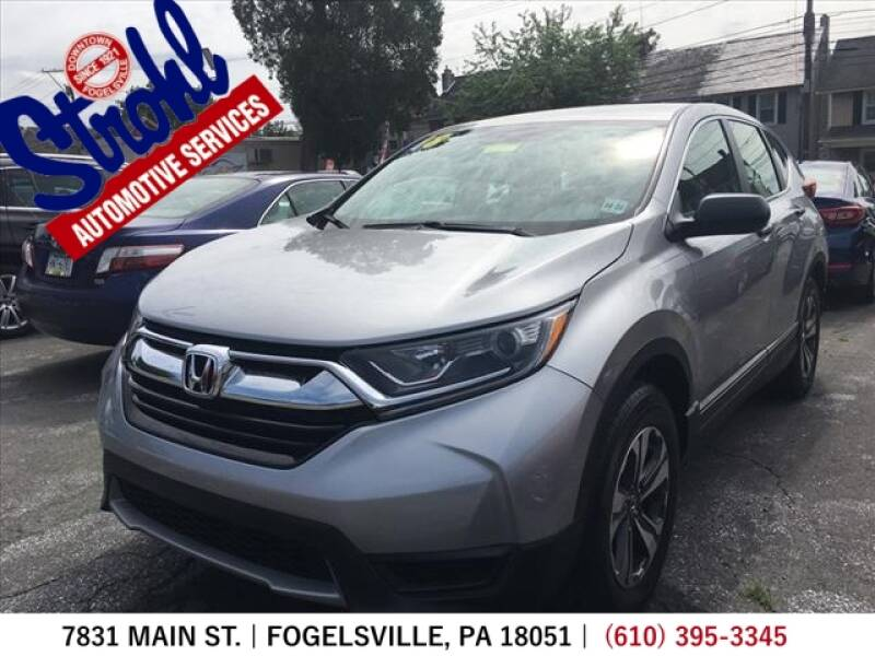 2018 Honda CR-V for sale at Strohl Automotive Services in Fogelsville PA