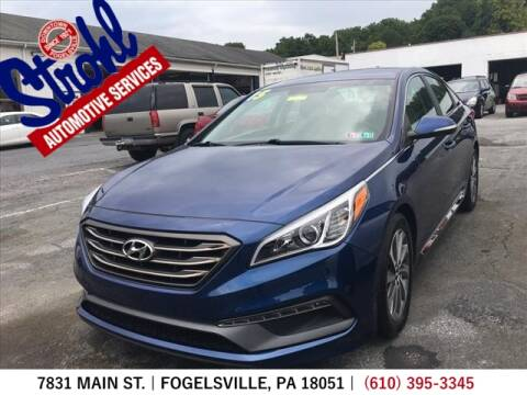 2015 Hyundai Sonata for sale at Strohl Automotive Services in Fogelsville PA
