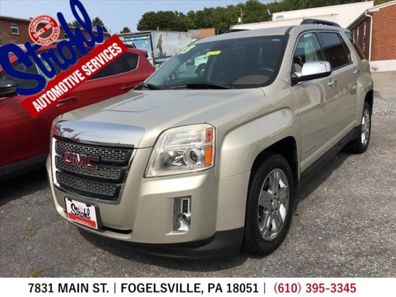 2013 GMC Terrain for sale at Strohl Automotive Services in Fogelsville PA