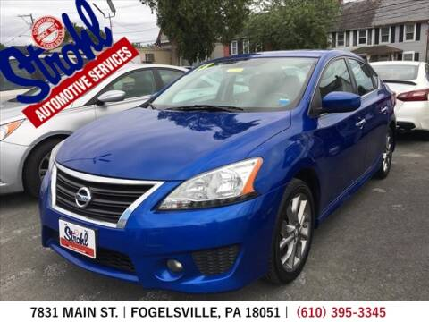 2013 Nissan Sentra for sale at Strohl Automotive Services in Fogelsville PA