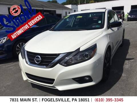 2017 Nissan Altima for sale at Strohl Automotive Services in Fogelsville PA