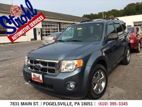 2011 Ford Escape for sale at Strohl Automotive Services in Fogelsville PA