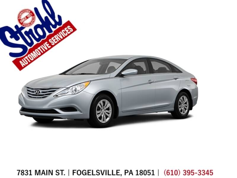 2013 Hyundai Sonata for sale at Strohl Automotive Services in Fogelsville PA