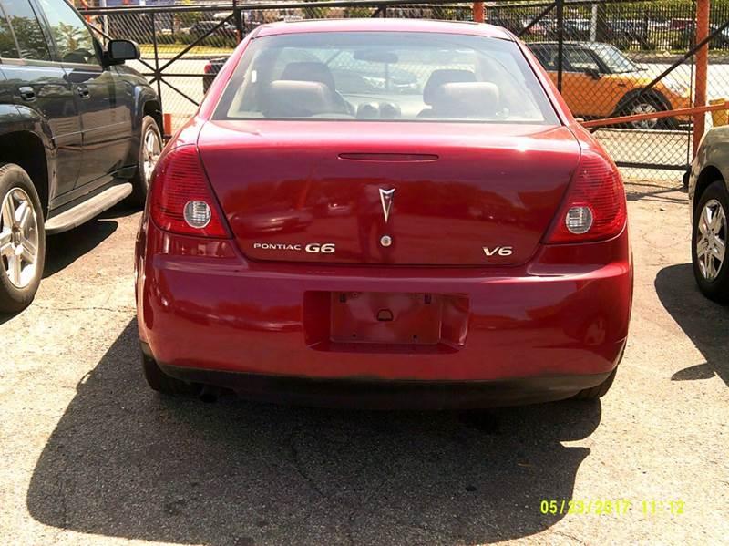2006 Pontiac G6 4dr Sedan w/V6 - Detroit MI