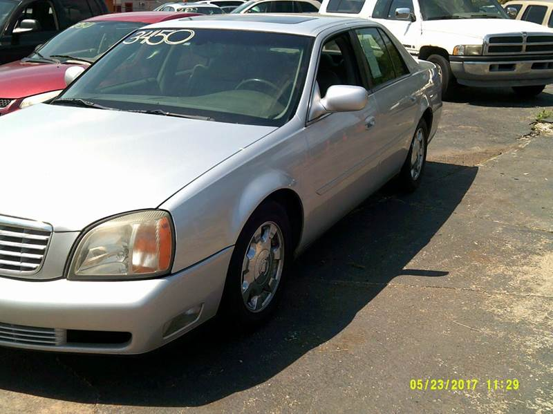 2002 Cadillac DeVille 4dr Sedan - Detroit MI
