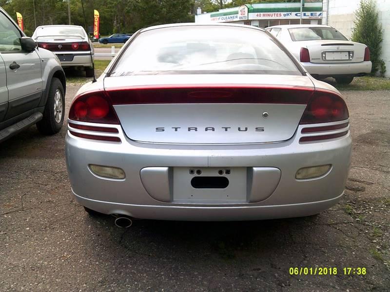 2001 Dodge Stratus Detroit Used Car for Sale