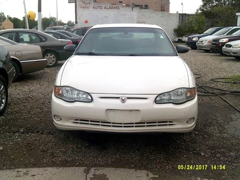 2004 Chevrolet Monte Carlo car for sale in Detroit