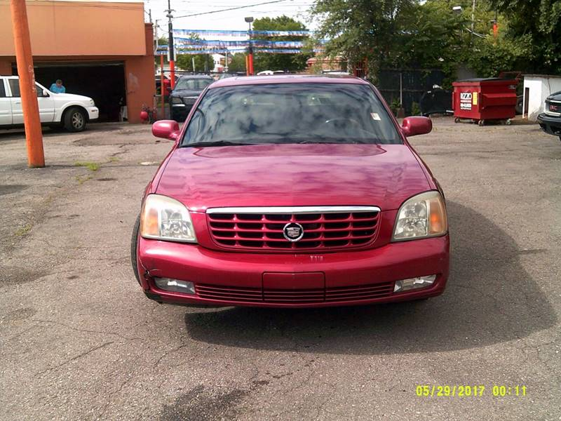 2002 Cadillac Deville car for sale in Detroit