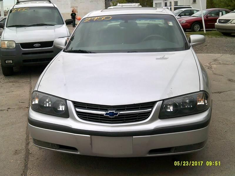2000 Chevrolet Impala car for sale in Detroit
