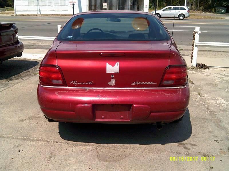 1999 Plymouth Breeze 4dr Sedan - Detroit MI