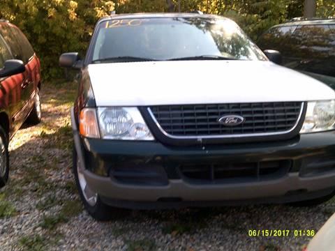 2002 Ford Explorer for sale in Detroit MI