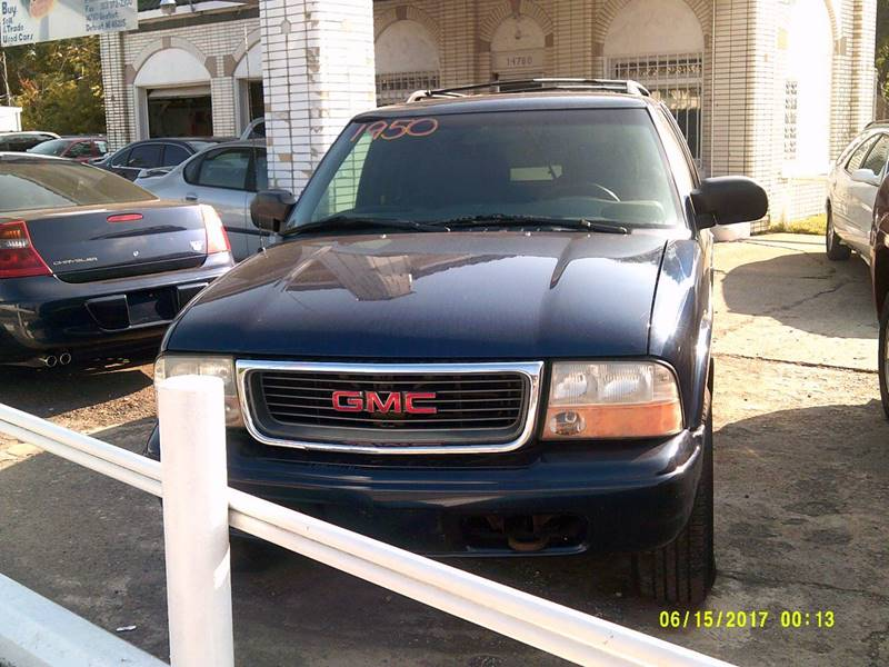 2000 Gmc Jimmy car for sale in Detroit