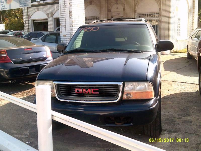 2000 Gmc Jimmy car for sale in Detroit