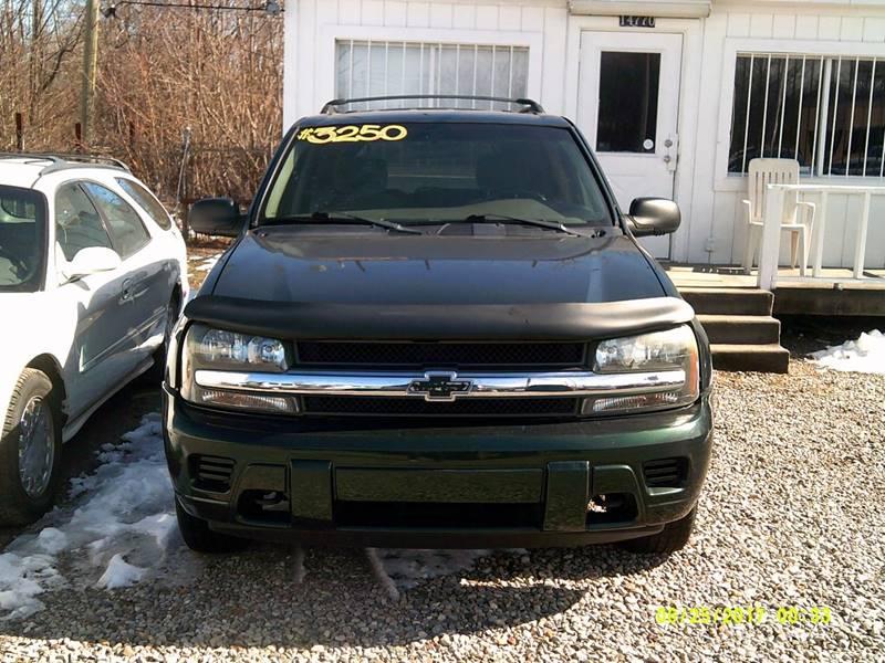 2002 Chevrolet Trailblazer car for sale in Detroit