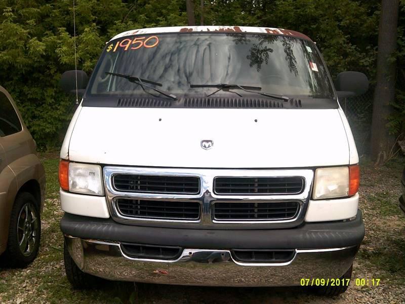 2002 Dodge Ram1500van car for sale in Detroit