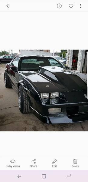 1985 Chevrolet Camaro car for sale in Detroit
