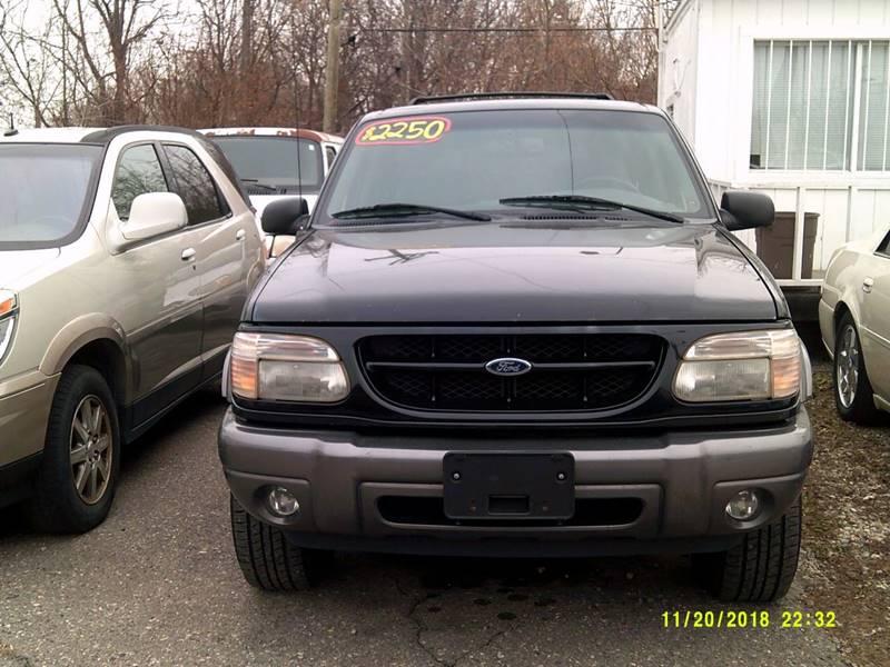 2001 Ford Explorer car for sale in Detroit
