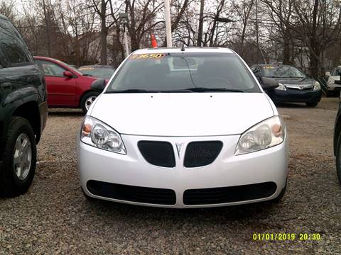 2009 Pontiac G6 for sale at DONNIE ROCKET USED CARS in Detroit MI