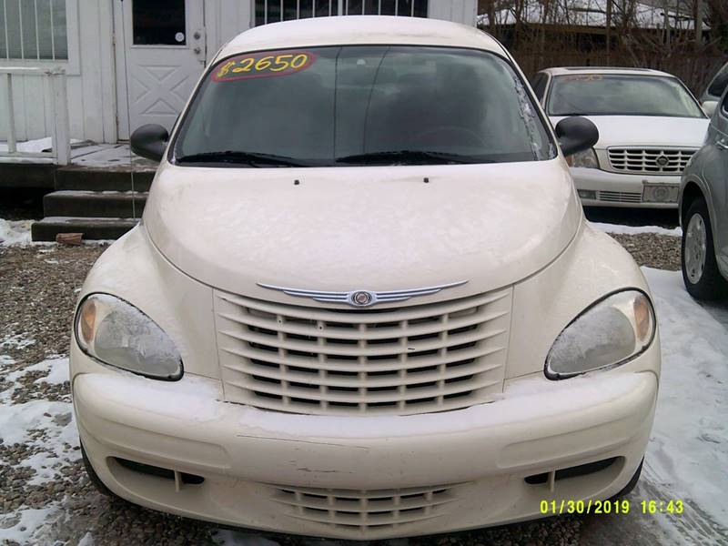 2005 Chrysler PT Cruiser for sale at DONNIE ROCKET USED CARS in Detroit MI