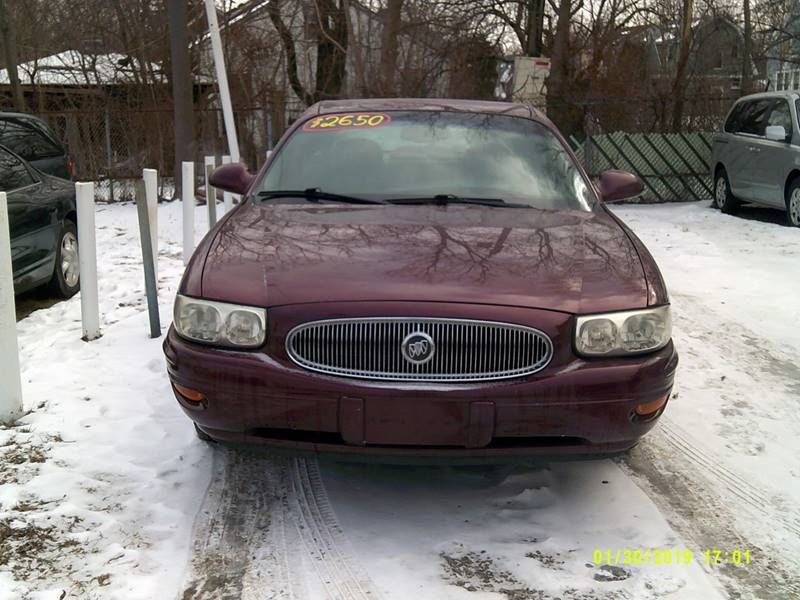 2002 Buick LeSabre for sale at DONNIE ROCKET USED CARS in Detroit MI