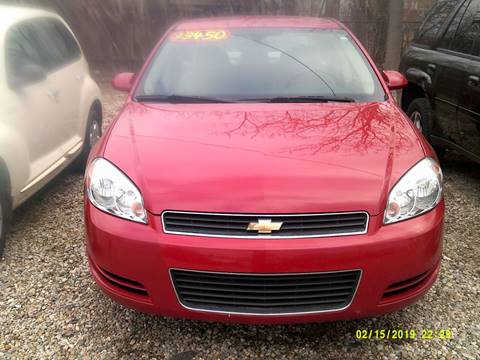 2007 Chevrolet Impala for sale at DONNIE ROCKET USED CARS in Detroit MI