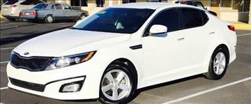 2015 Kia Optima for sale at ALBUQUERQUE AUTO OUTLET in Albuquerque NM