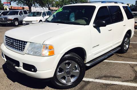 2004 Ford Explorer for sale at ALBUQUERQUE AUTO OUTLET in Albuquerque NM
