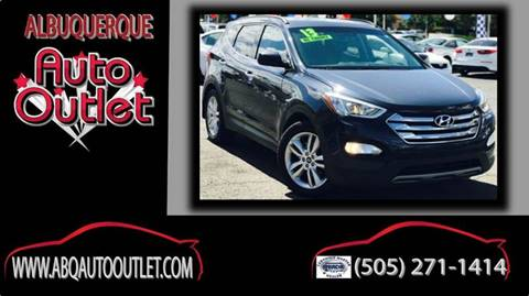 2013 Hyundai Santa Fe Sport for sale at ALBUQUERQUE AUTO OUTLET in Albuquerque NM