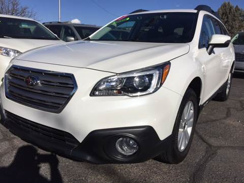 2017 Subaru Outback for sale at ALBUQUERQUE AUTO OUTLET in Albuquerque NM