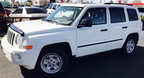 2007 Jeep Patriot for sale at ALBUQUERQUE AUTO OUTLET in Albuquerque NM