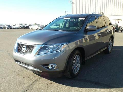 2016 Nissan Pathfinder for sale at ALBUQUERQUE AUTO OUTLET in Albuquerque NM