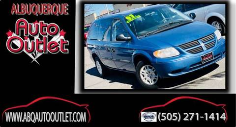 2007 Dodge Grand Caravan for sale at ALBUQUERQUE AUTO OUTLET in Albuquerque NM